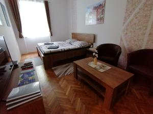 Luxury 3 rooms apartment with sauna in the center