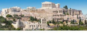 Apart 6min form City Center Acropolis 5person