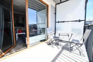 Apartament Burgund z miejscem w garażu