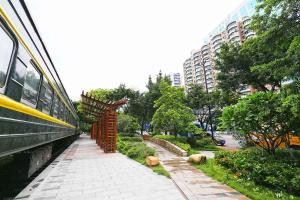 South Donghua Road Apartment 00112410, Apartmány  Kanton - big - 13