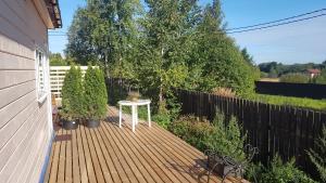 Гостевой дом Солнечный с баней, Ferienhäuser  Pribylovo - big - 5