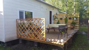 Гостевой дом Солнечный с баней, Prázdninové domy  Pribylovo - big - 15