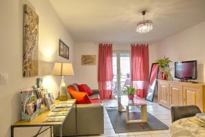 Jardin de l'Atrium Appartement rénové au centre ville - Hotel - Saint-Julien-en-Genevois