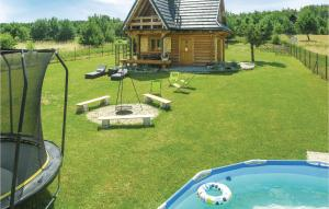 Beautiful home in Nidzica w Outdoor swimming pool and 4 Bedrooms