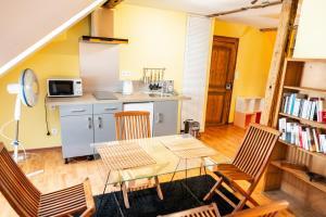 Loft dans maison alsacienne