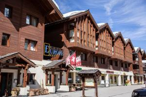 Accommodation in Zinal