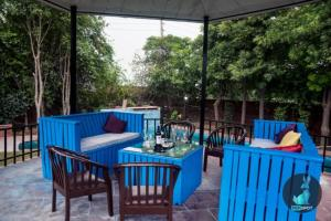 THE PEPFARM-Farmhouse with pool for parties, Holiday homes  Gurgaon - big - 11