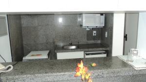 Flat Via Venetto Meirelles, Apartmány  Fortaleza - big - 42