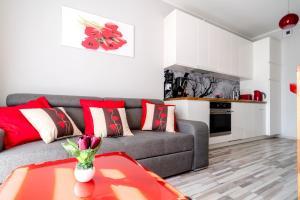Tulip Apartments Garbary 100 czerwone studio