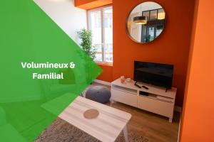 Gahenda - Appartement Volumineux et Familial - Parking, WiFi & Netflix - Hotel - Hendaye