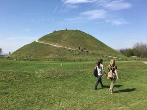 House near Krakus Mound