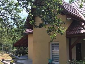 Domek z kominkiem domek Maja