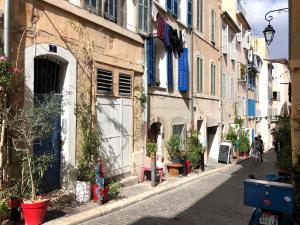 Charm Historic district Panier Vieux Port Mucem