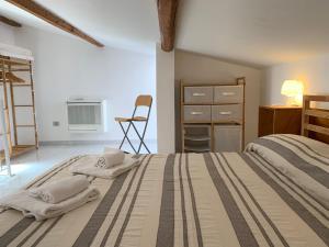 Apartment mit 1 Schlafzimmer - 2 Ebenen