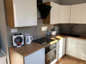 Grey apartment 50 m2