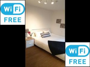 FreeWIFI&2min Shinjuku! Clean, safe, stylish room! MAX8people