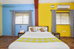 Spacious 1BR Retreat, Goa, Appartamenti  Marmagao - big - 23