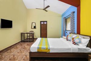 Spacious 1BR Retreat, Goa, Apartments  Marmagao - big - 25