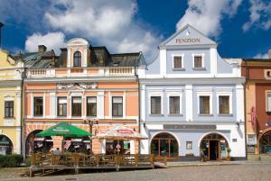 4 hvězdičkový penzion Penzion U Zvonu Rychnov nad Kněžnou Česko