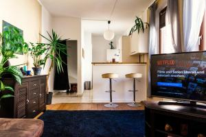 Luxery flat with Netflix in City 5min to Harbour