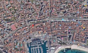 Centre Ville-Palais des festivals-app.3, Appartamenti  Cannes - big - 12