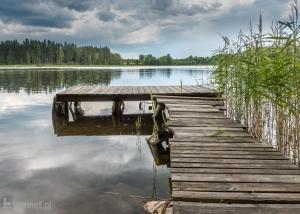 Nad Jeziorem Zelwa Puszcza Augustowska