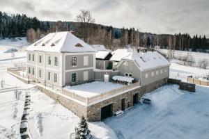 4 hviezdičkový apartmán Aparthotel & Wellness Knížecí cesta Horní Planá Česko