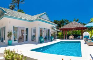 Beachfront Resort Villa Baan Khwam Rak 3BR