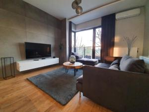 Modern apartment with stunning view in city center