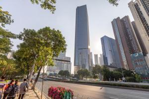 Guangzhou Tianhe·Liede Station·, Apartmanok  Kuangcsou - big - 5