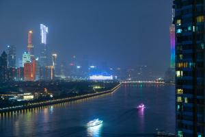GuangZhou HaiZhu District·Guangzhou Tower·ZhuJiang River, Apartmány - Kanton