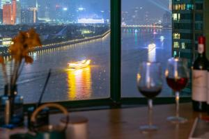 GuangZhou HaiZhu District·Guangzhou Tower·ZhuJiang River, Apartmány  Kanton - big - 35
