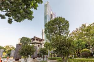 Guangzhou Tianhe·Liede Station·, Apartmanok  Kuangcsou - big - 20