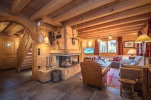 Location gîte, chambres d'hotes Chalet Macha dans le département Haute Savoie 74