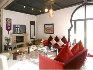 Villa with 4 bedrooms in Marrakech with private pool terrace and WiFi