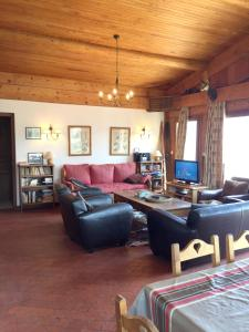 Chalet with 5 bedrooms in Cordon, with wonderful mountain view, furnished terrace and WiFi - Hotel - Cordon