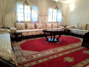 Apartment with one bedroom in Casablanca with wonderful city view terrace and WiFi 14 km from the beach