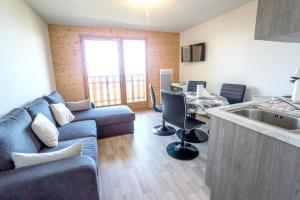 Apartment with one bedroom in Thollon les Memises with wonderful lake view and furnished balcony 360 m from the slopes - Hotel - Thollon-les-Mémises