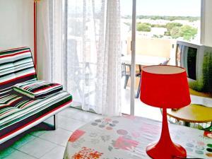Appartement d'une chambre a Saint Cyprien avec magnifique vue sur la mer et balcon amenage a 600 m de la plage