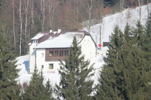 Penzion Horská chata Hubertus Albrechtice v Jizerských horách Česko