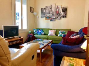4 Bedrooms flat in the city center