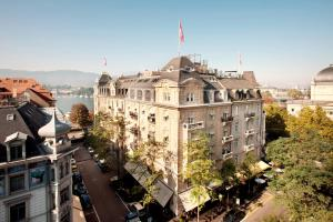 emblème de l'établissement Romantik Hotel Europe