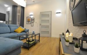Apartament Turkusowy Centrum Gliwic
