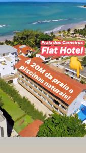 Praia dos Carneiros Flat Hotel 20 metros da praia, EM FRENTE PISCINAS NATURAIS!!!