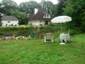 Zimmer mit Gartenblick