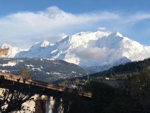 Vue Mont Blanc et toute la chaîne - Hotel - Combloux