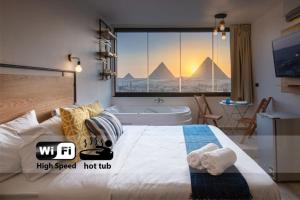 Jacuzzi By The Historic Giza Pyramids - Apartment 3