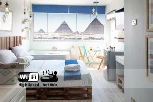 Jacuzzi By The Historic Giza Pyramids - Apartment 2