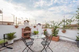 Attico panoramico San Giovanni - abcRoma.com