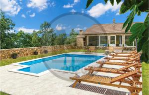 Stunning home in Knin w/ Outdoor swimming pool and 3 Bedrooms